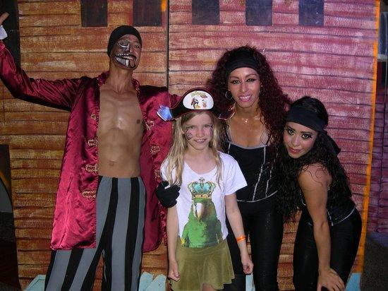 Melia Puerto Vallarta All Inclusive: Super Pirate Show!