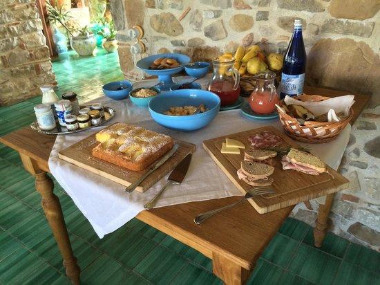 Terre Di Himera: Breakfast