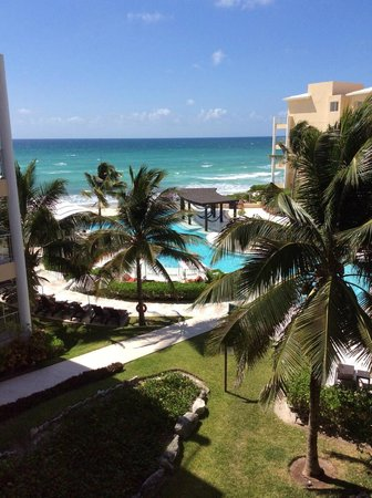 Now Jade Riviera Cancun: Our view from the room