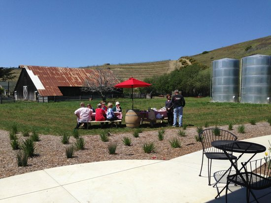Stolo Family Winery & Vineyards: Picnic on the meadow