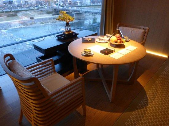 The Ritz-Carlton, Kyoto: Room view to the Kamogawa River