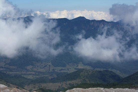 Poas Volcano: Cloud view