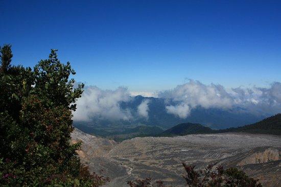 Poas Volcano: View from Volcano