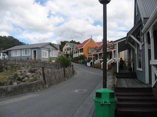 Whakarewarewa - The Living Maori Village: Maori village street