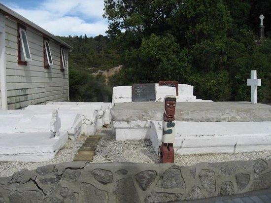 Whakarewarewa - The Living Maori Village: Maori cemetery