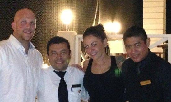 Secrets Silversands Riviera Cancun: Osmon and Daniel are the BEST!!!