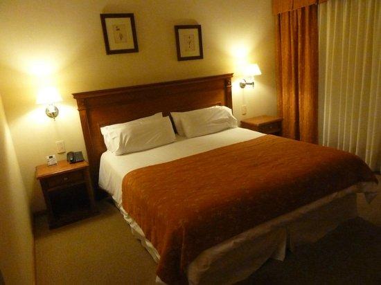 Terrazas del Calafate Hotel : Habitación cómoda y cálida