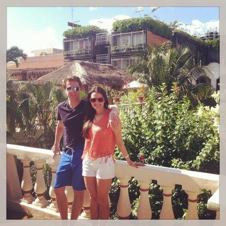 Hotel Aventura Mexicana: hanging my the sunbathing area