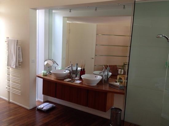 Hotel Palafitte: bagno