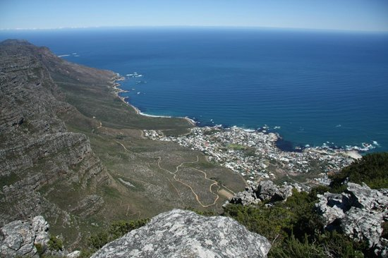 Table Mountain Aerial Cableway: Table Mountain