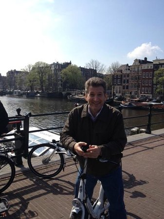 We Bike Amsterdam Tours: Thijs...as promised. Here is that picture you took of John =)
