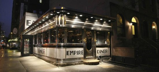 Photo of American Restaurant Empire Diner at 210 10th Ave, New York, NY 10011, United States