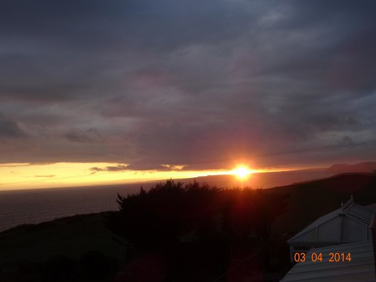 Chesil Beach Lodge : sunset