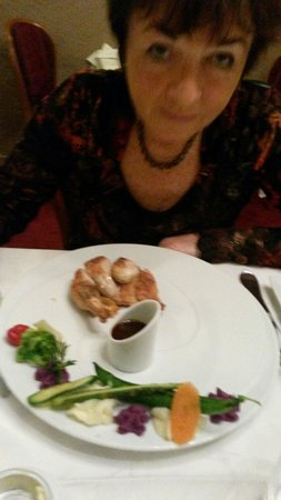 LA RAPIERE : Guinea fowl.. tasty..with loving and long suffering wife! :-)