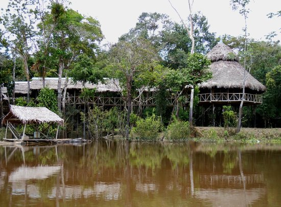 Amazonia Expeditions' Tahuayo Lodge : the main lodge