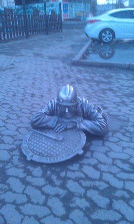 Monument to Stepan, the Plumber : Добродушный Степаныч