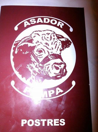 "La Pampa : le logo du asador la ""pampa"""