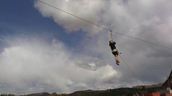 Zion Ponderosa Ranch Resort : The Zip Line!