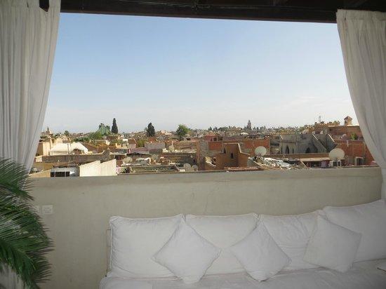 Riad Kheirredine: Aussicht von der Terrasse