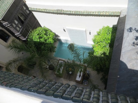Riad Kheirredine: Innenhof