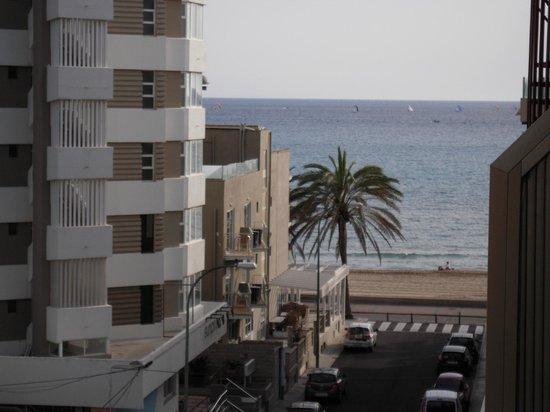 Hotel Helios Mallorca: Otra vista del mar.