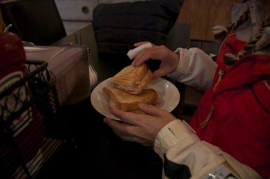 Tod Mountain Cafe: 子どもたちに大人気