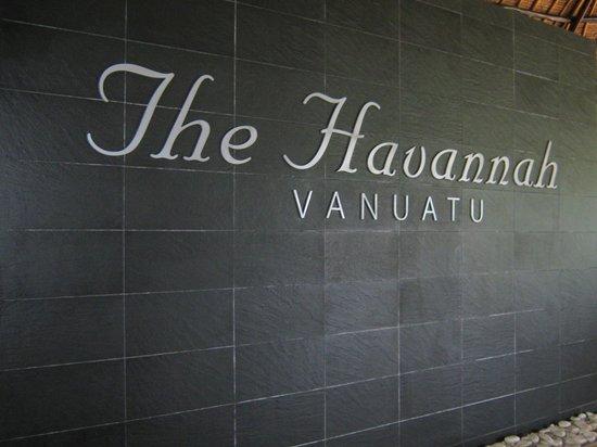 The Havannah: Entrance Area