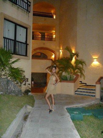 Sandos Playacar Beach Resort : El ingreso a las Habitaciones....