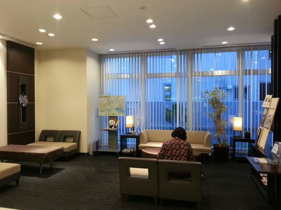 S-peria Hotel Nagasaki : 아담한 로비모습
