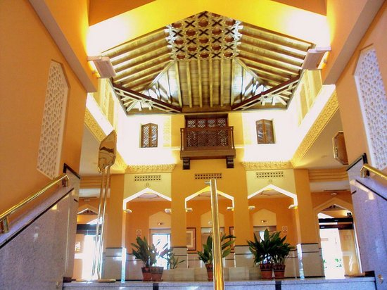 Saray Hotel: Detalle del techo del hall.