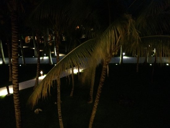 Barcelo Maya Beach : Night view from our balcony
