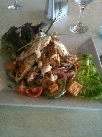 The Beach Restaurant: chicken salad ...