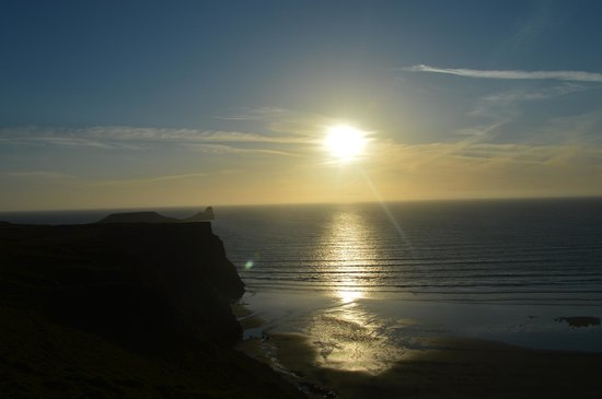 Rhossili Bay : Sunset