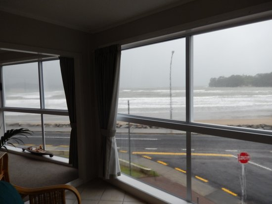 Waterfront Apartments : Storm watching from the apartment