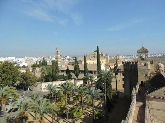 Alcazar de los Reyes Cristianos: vistas desde la torre