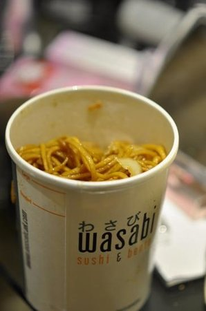 "Wasabi - Oxford Street: chicken noodles ""i didnt like it that much"""