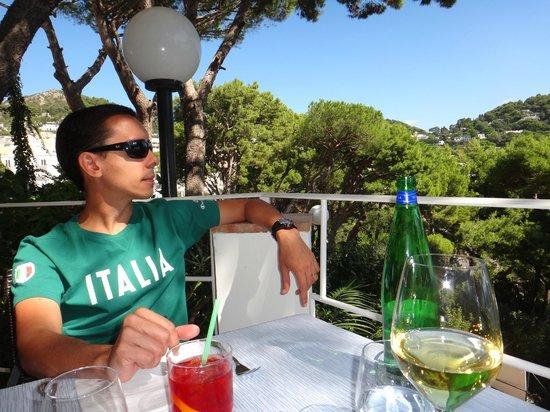 Ristorante Il Geranio: Ambiente delicioso...