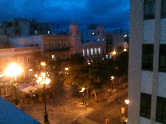 Hotel Plaza De Armas Old San Juan: view from room 404