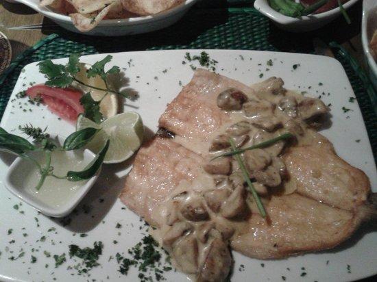 El Indio Feliz Restaurant Bistro: Trucha