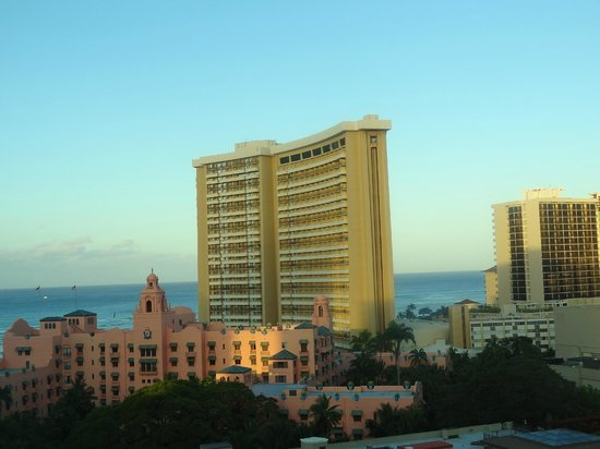 Holiday Inn Resort Waikiki Beachcomber: パーシャルオーシャンビュー