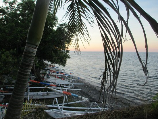 Puri Wirata Dive Resort and Spa Amed: great views