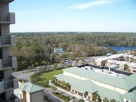 Royale Palms Condominiums by Hilton: View from balcony