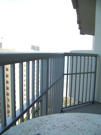 Royale Palms Condominiums by Hilton: View when seated on the balcony