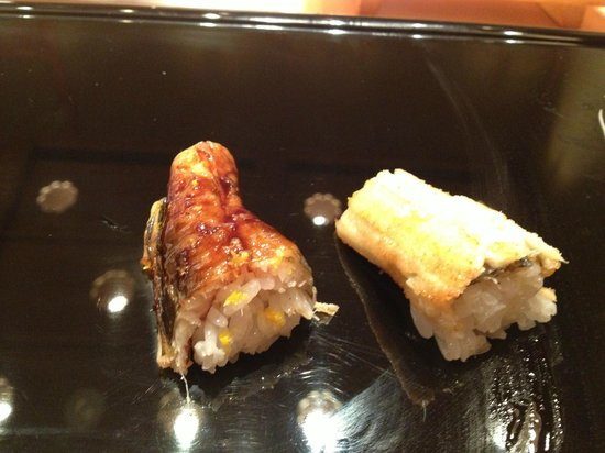 Kyubey Main Restaurant: うなぎ