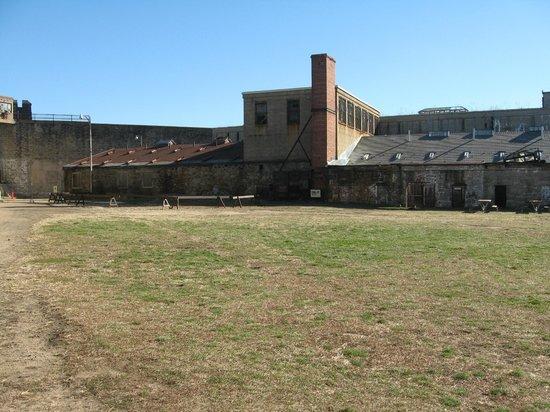 Eastern State Penitentiary's yard