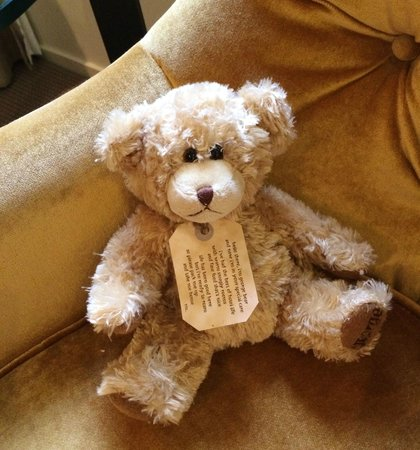 The George Christchurch: Every room comes with a teddy bear friend :)