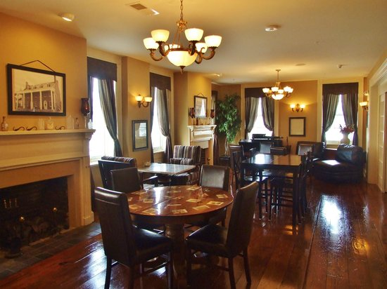 The Brick Restaurant & Tavern: Elegant and historic dining room