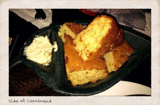 Billy Miner Alehouse & Cafe : Side of cornbread...I get one every time I visit...