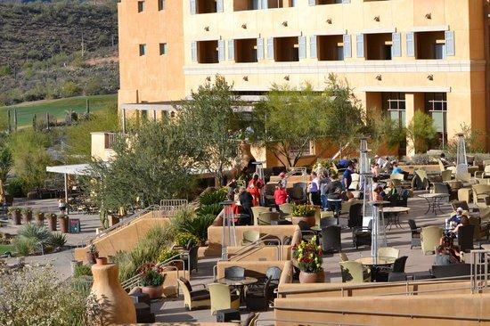 JW Marriott Tucson Starr Pass Resort & Spa: Tequila Toast time!