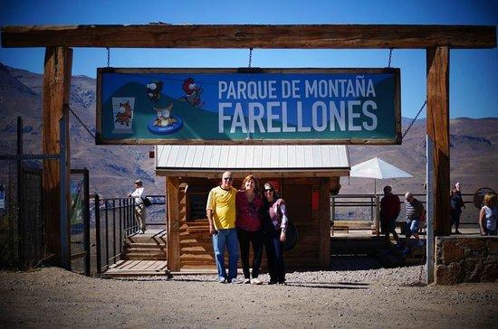 Info Farellones: Entrada do parque